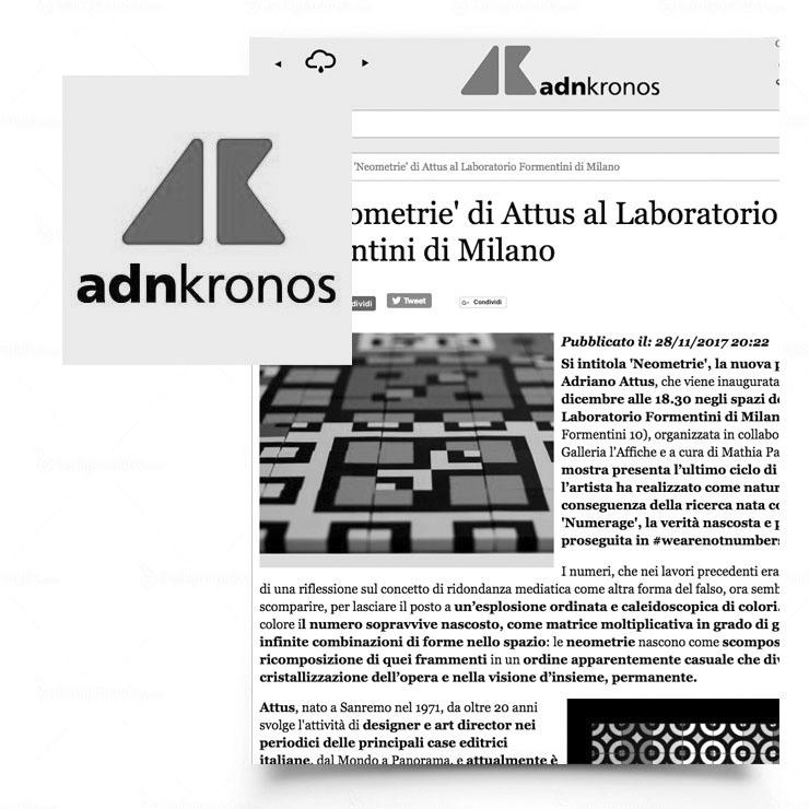Le Neometrie di Attus al Laboratorio Formentini di Milano